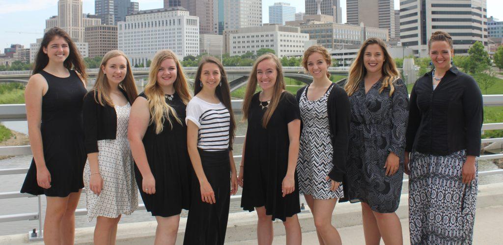Women of the 2017 Internship